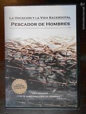DVD PESCADOR DE HOMBRES - LA VOCACION Y LA VIDA SACERDOTAL - COMO NUEVA