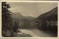 Alt Aussee Steiermark Österreich Ansichtskarte ~1940 Panoramablick über den See