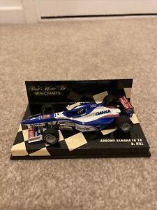Minichamps 1:43 Damon Hill Arrows Yamaha FA18 1997