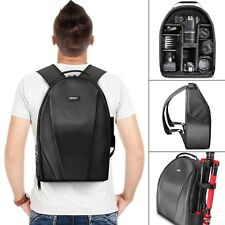 Vivitar Camera Backpack Bag for DSLR Camera Lens and Accessories Padded Case