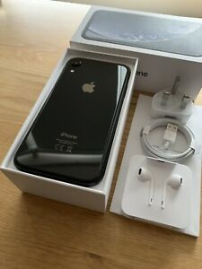 Apple iPhone XR 256GB Black (Unlocked) Smartphone - IMMACULATE CONDITION