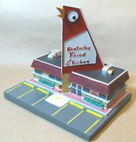 KENTUCKY FRIED BIG CHICKEN KFC RESTAURANT Lefton Roadside 1995 Unusual Shape NOS