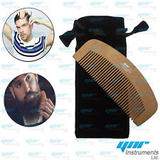 Bushy Beard Comb Moustache Pocket Double Wood Anti-static Fashion High Quality