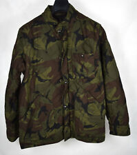 J Crew Quilted Jacket Military Camo Camouflage Coat M Mens