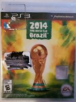 2014 FIFA World Cup Brazil (Sony PlayStation 3, 2014) Sealed