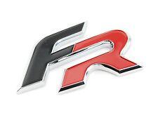 Seat Schriftzug FR rot schwarz Leon Ibiza Altea Cupra R original Formula Racing