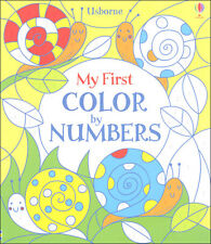 Usborne My First Color by Numbers  (pb)  NEW