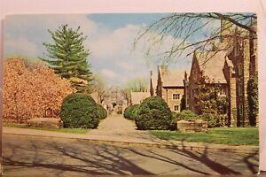 New Jersey NJ Princeton University Blair Tower Pyne Hall Postcard Old Vintage PC