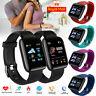 Bluetooth Smart Watch Heart Rate Bracelet Fitness Tracker Pedometer UK STOCK