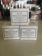 NEW! FRESH Rose face mask - hydrating & toning gel mask 15ml deluxe sample BNIB