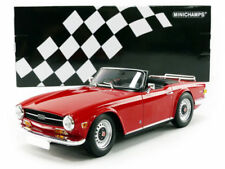 Minichamps 1969 Triumph TR6 Convertible Red 1:18*Brand New! HOT SELLER!!