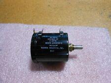 Beckman Variable Resistor Part # Sa-2887B Nsn: 5905-00-685-9477 # 2006592-9
