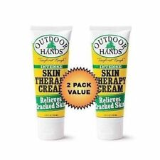 Outdoor Hands Skin Therapy Cream   Hand Repair   Lightly Scented   Two Pack