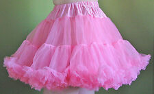 New Layered SOFT TULLE PETTICOAT in 4 Colors & 2 Sizes!