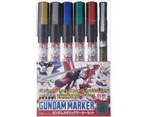 Gunze Sangyo Gundam marcadores-conjunto de marcador Metálico