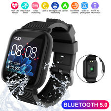 Waterproof Sport Smart Watch Heart Rate Monitor Blood Pressure For iOS Android