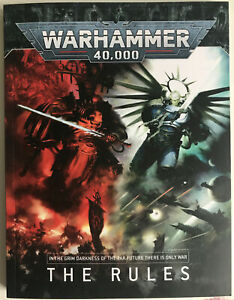 Warhammer 40K - A5 9th Edition Soft cover paperback full Rulebook New