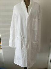 VINTAGE Lab Coat Workwear Laboratory Coat ALEXANDRA MADE UK 100% COTTON Medium