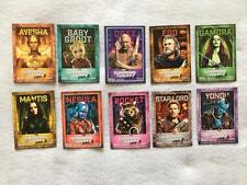 THE GUARDIANS OF THE GALAXY VOL 2 - Complete set of 10 Trading Cards 2017 AMC