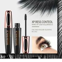 4D Silk Fiber Eyelash Mascara Magic Extension Makeup Black Waterproof Eye Lashes