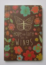 x Hope Faith are my wings ALWAYS LOVE 80pg notebook travel journal diary divorce