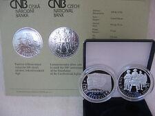 La república checa 2014 200 coronas plata pp proof-checoslovacos legión -