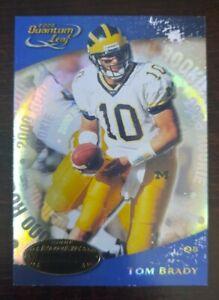 2000 Quantum Leaf #343 Tom Brady RC Rookie Card
