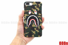 A Bathing Ape Bape ABC Camo Shark Phone Case Cover For iPhone X 8 7 Plus 6 6S