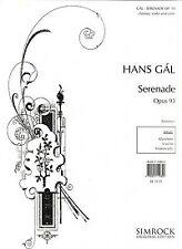 GAL SERENADE OP 93 CLARINET/VIOLIN/CELLO PARTS