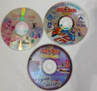 Lot Of Pc Games not tested Monopoly casino vegas edition, monopoly Jr, candyland