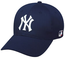 New York Yankees Hat MLB Replica Adjustable Pre-Curved Baseball Cap Fits All