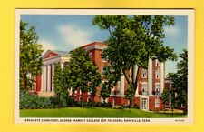 Nashville,TN Tennessee, Graduate Dormitory,George Peabody College for Teachers