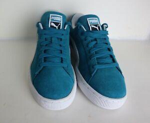 Puma Suede Classic Unisex Adults Sneakers 365347 13- ocean depths- puma white