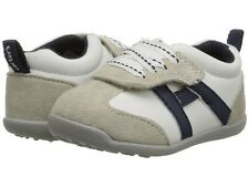 Carter's Oldie White Leather Walking Shoes Size 3 Infant Baby Boy 6-9 Months NEW