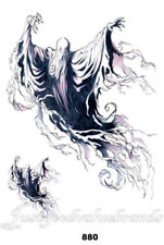 Harry Potter Flying Ghost Dementor Scary Magical Creature Temporary Tattoo