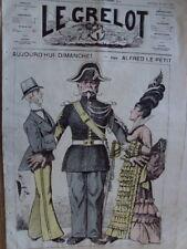 LE GRELOT AUJOURD HUI DIMANCHE PAR A. LE PETIT 1874