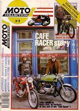MOTO COLLECTION  3 HONDA CB 450 Twin Enfield 500 Moto de Course 1000 Café Racer
