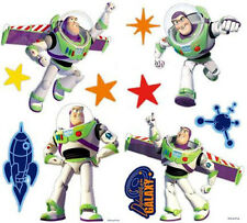 Disney ~Toy Story and Beyond ~ Buzz Lightyear ~ 20 Self-Stick Wall Stickers ~NIP