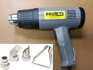 Heatgun US-standard ETL approved Pro 1500 Watt 2-Temperature Heat Gun+4 Nozzles