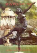BARJAC carte-postale 40 ° FOIRE AUX ANTIQUITE BROCANTE 1993 timbrée