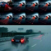 1x Car Cool Pattern Anti-Collision End Rear Tail Fog Driving Laser Caution Light