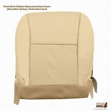 2010 Lexus RX 450 Front Driver Side Bottom Perforated Leather Seat Cover Tan