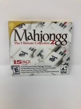 Mahjong/Mahjongg The Ultimate Collection 2 - PC-CD Rom Software Games