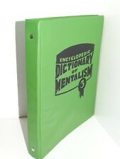 More details for encyclopedic dictionary of mentalism 3 burling hull