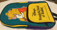 Disney's Wonderful World Of Reading  Winnie& Piglet Childs Backpack