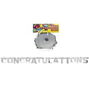 giant congratulations banner 2m