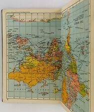 Pocket Atlas of the World - Johnston's 1953 first print ed.