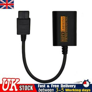 UK HDMI Converter Adapter for Nintendo NGC/N64/SNES/SFC GameCube HDTV 720P Cable