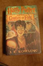 Harry Potter and the Goblet of Fire by J.K. Rowling Prebound Book (English)
