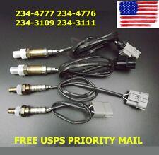 4x New Upper & Under Oxygen Sensor O2 For 2000 Nissan Maxima 3.0L Calif USA